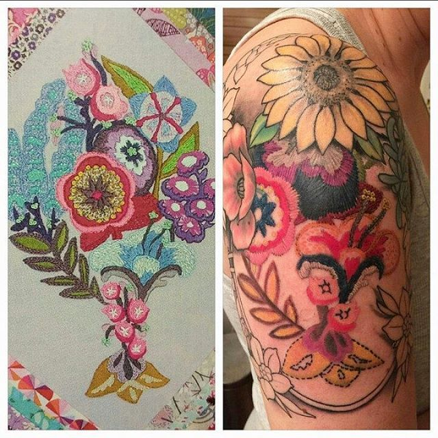 Instagram Post by anna maria horner (@annamariahorner) | Anna ... : quiltcon tattoo - Adamdwight.com