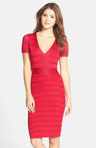 French Connection 'Summer Spotlight' Knit Bandage Dress available at #Nordstrom