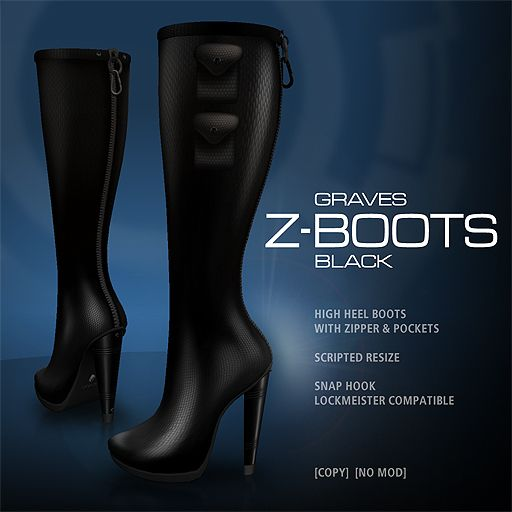 GRAVES Z-Boots - Black