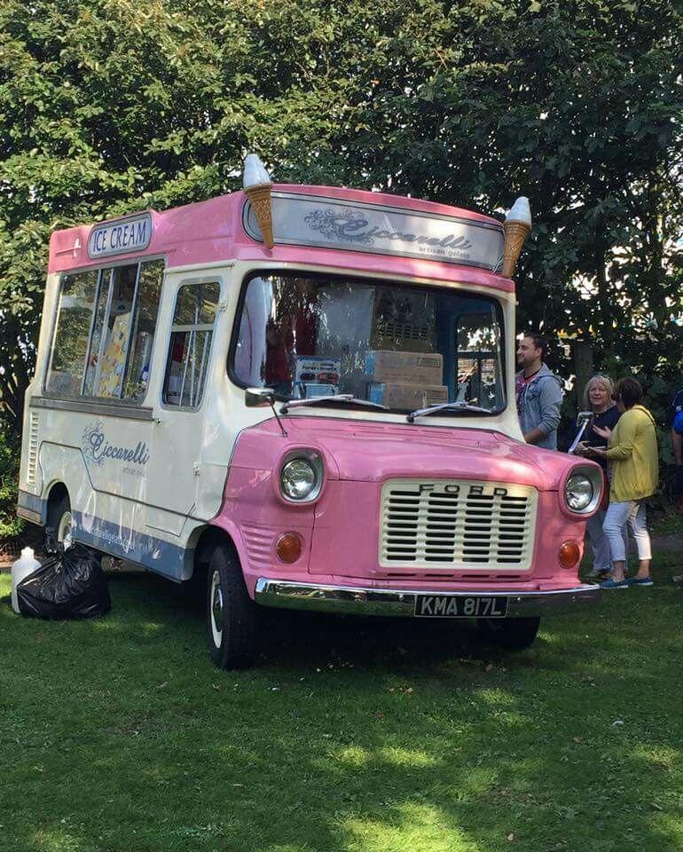 Ford Transit Mk L Ice Van Ice Cream Truck Ice Cream Van Vintage Ice Cream