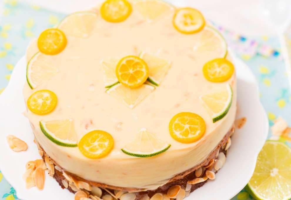 Zitrustorte Kochrezepte Von Kochen Kuche Rezept Kuchen Und Torten Backrezepte Dessert Ideen