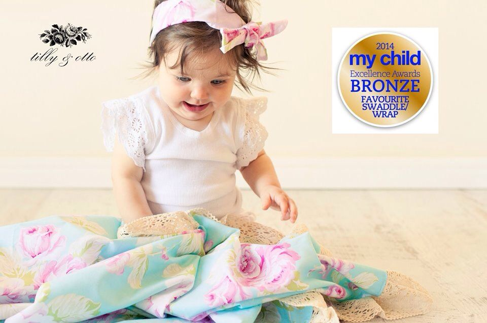 Otto Babyzimmer ~ Lovely gift! amelie lace baby wraps by tilly & otto tillys