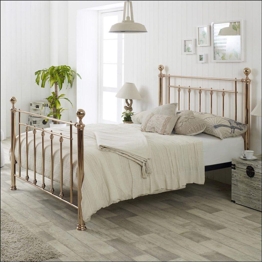 Best Libra Metal Rose Gold Bed Frame Metal Beds Gold Bed 400 x 300