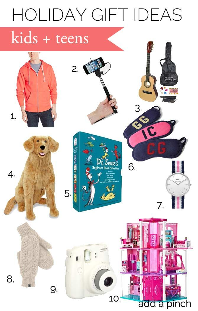 Gift Ideas for Kids and Teens from addapinch.com | Celebrating ...