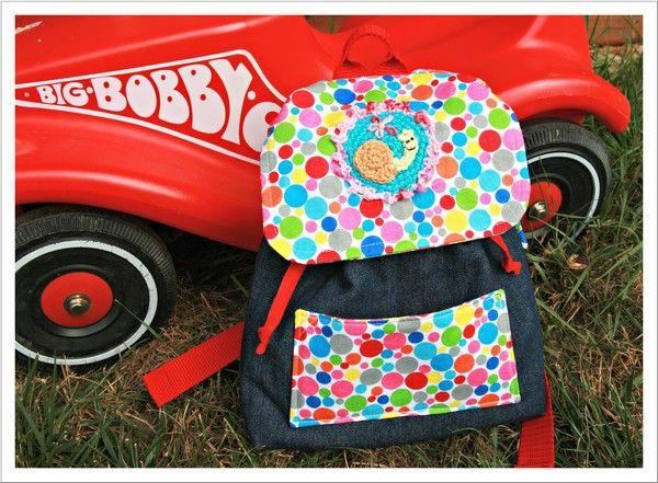 pin von miss margerite auf ideen f r kinder kids backpacks sewing und backpacks. Black Bedroom Furniture Sets. Home Design Ideas