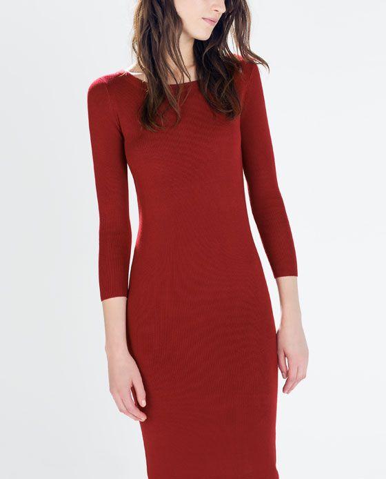 Zara - KNIT DRESS