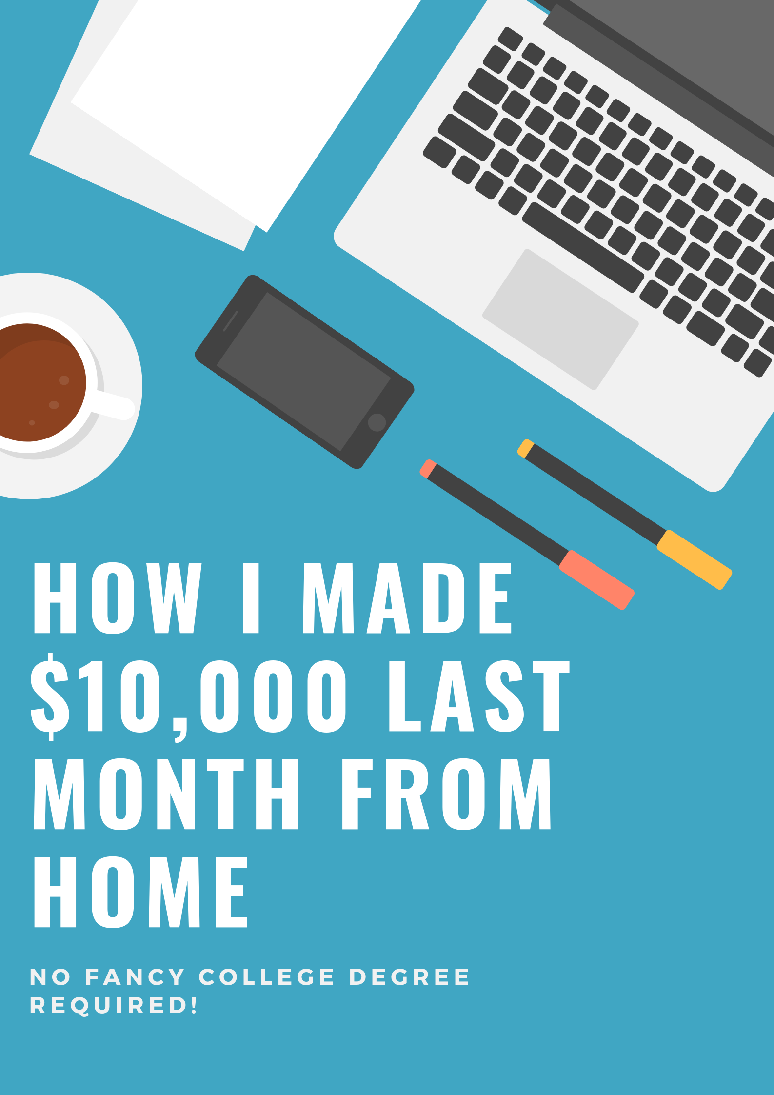 Make Money Working At Home With No Previous Skills Required I