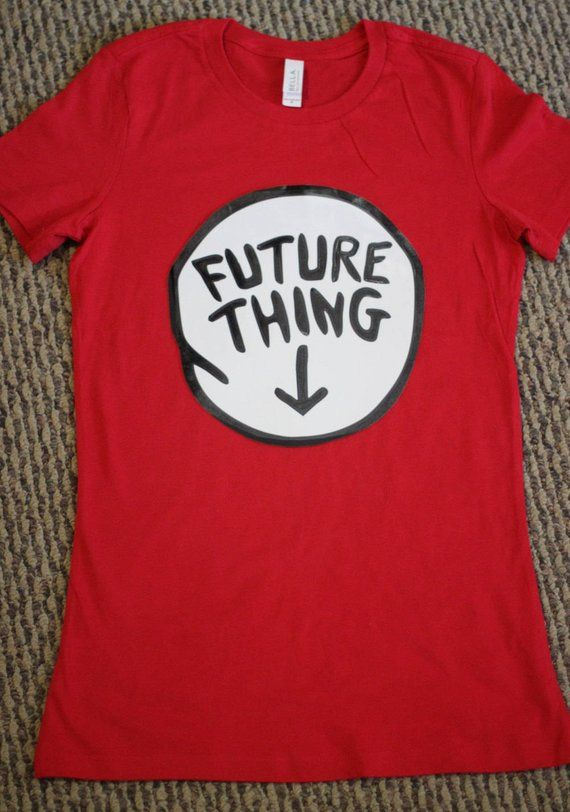 Thing 1 and Thing 2 Shirt Pregnancy Maternity Womens Dr Seuss Expecting 33f2d302f7