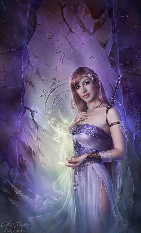 Thessella of Vambre (Digital Art by Olga Fomina) | Out of this World ...