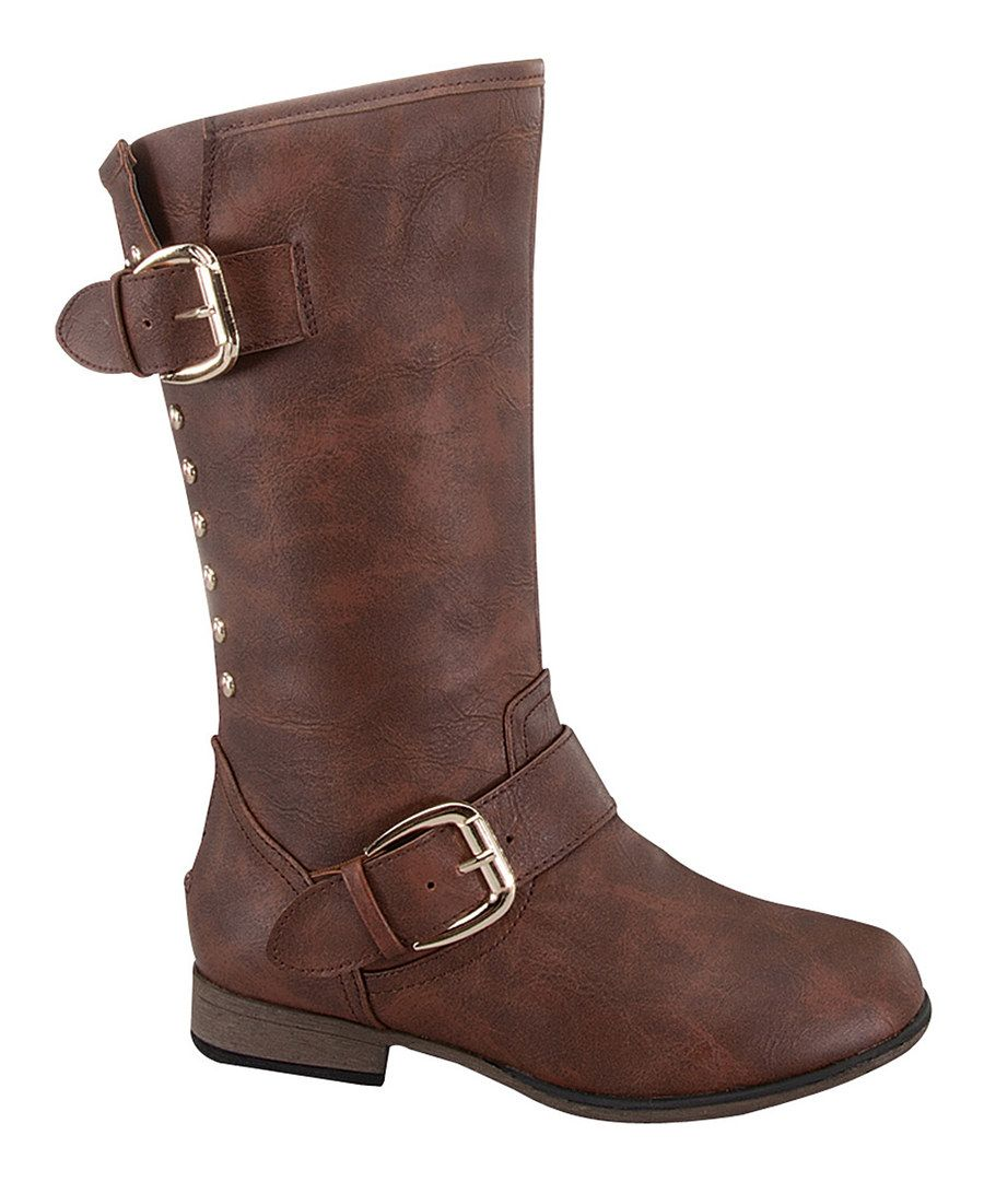 Look at this Link Brown Legend Boot on #zulily today!