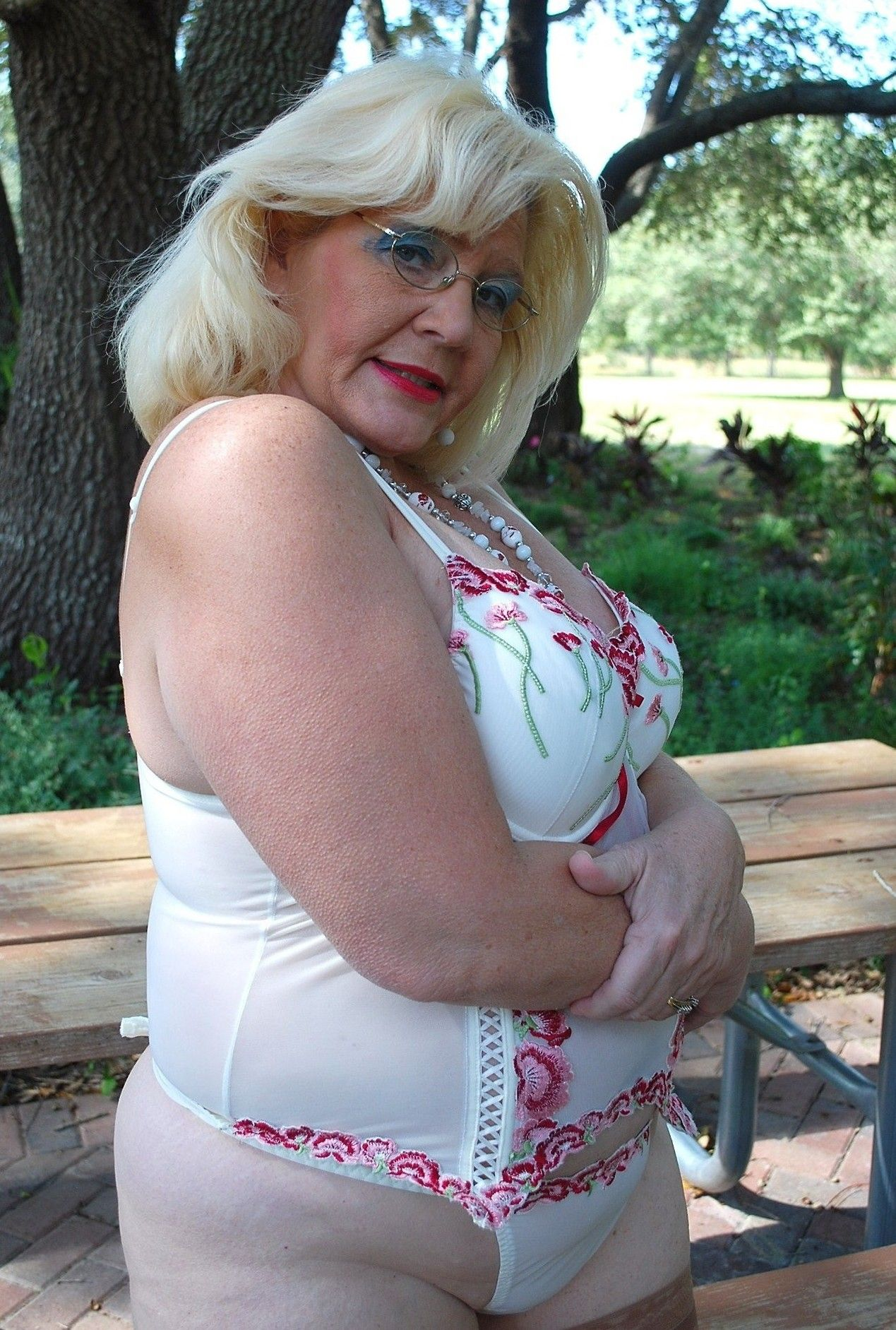 Mature Large Stocking Milf
