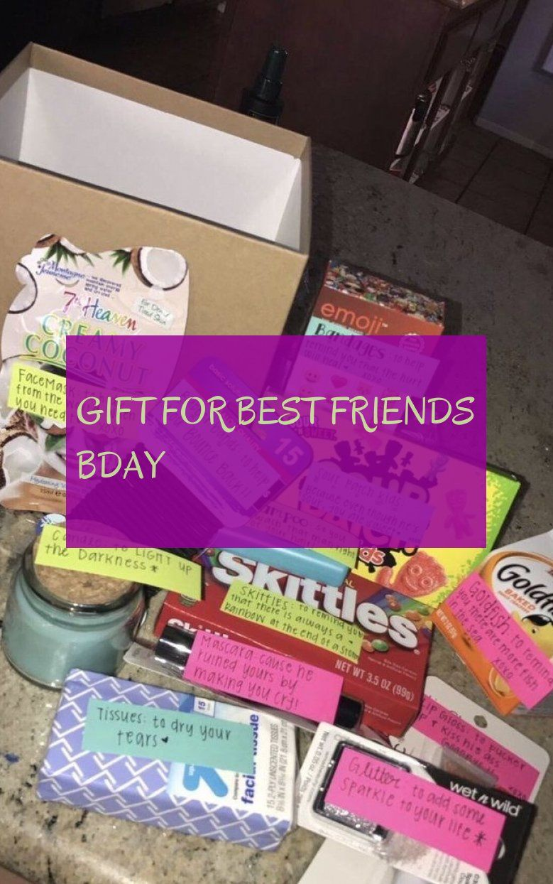 Geschenk Für Die Besten Freunde Bday