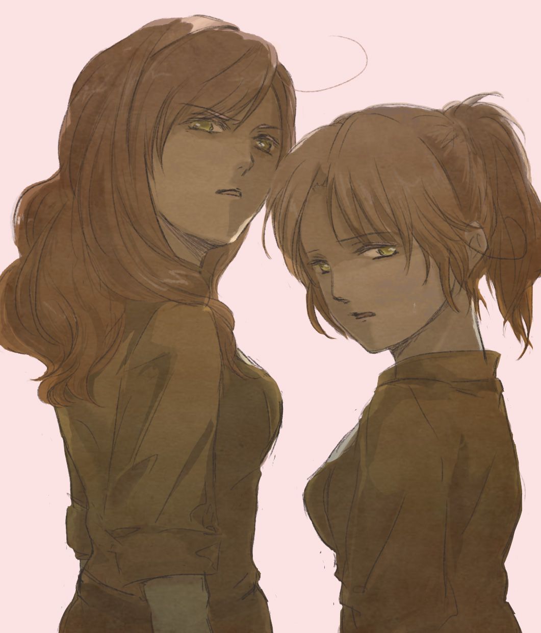 Tags: Axis Powers: Hetalia, North Italy, Pixiv, South Italy, Axis Power Countries, Mediterranean Countries, Nyotalia, Pixiv Id 1608480, North Italy (Female), South Italy (Female)