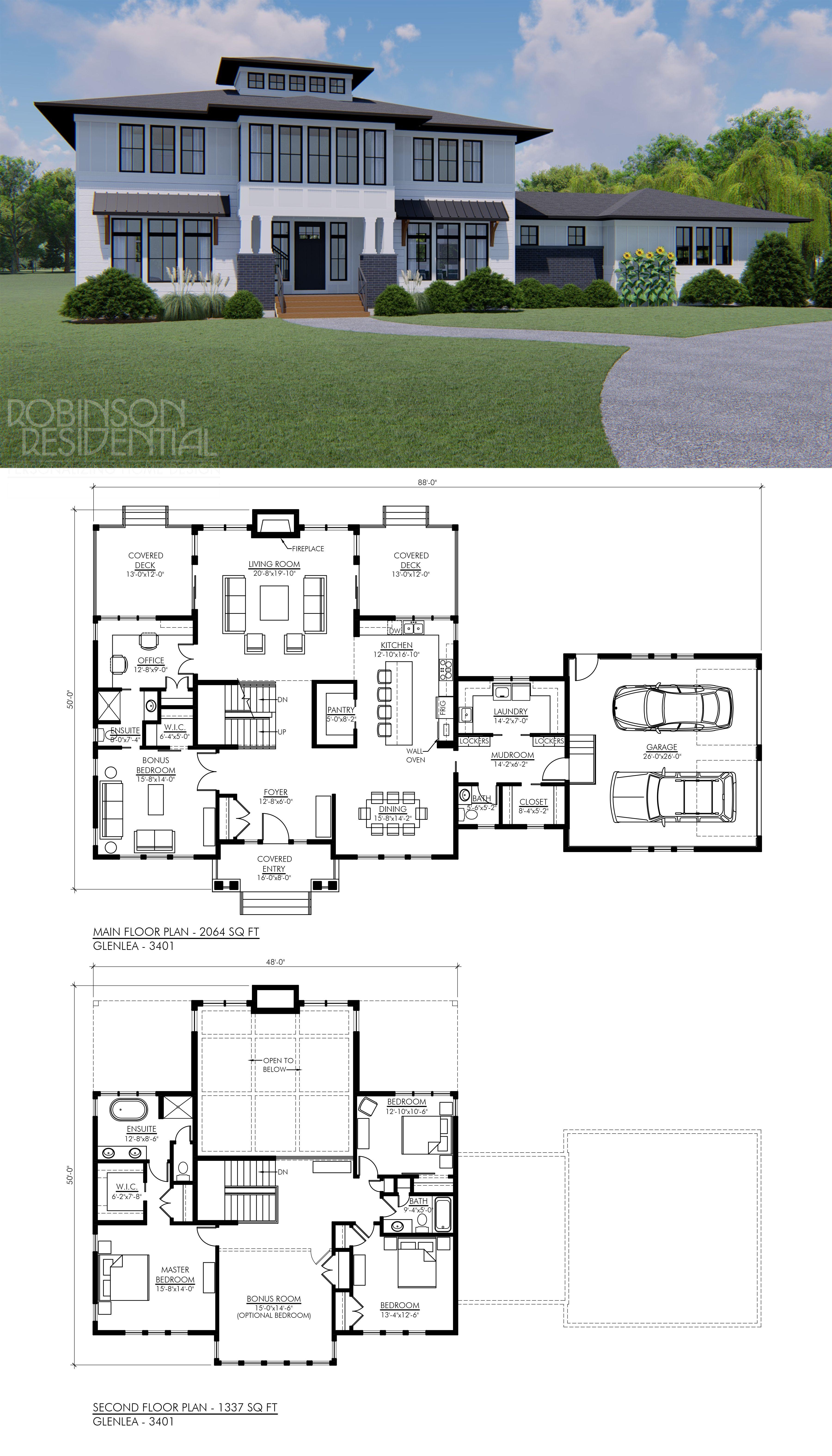 Modern Farmhouse Glenlea 3401