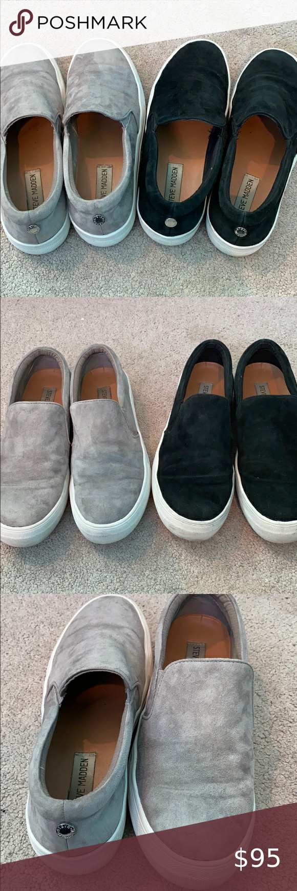 Steve Madden Suede Thick bottom Sneaker