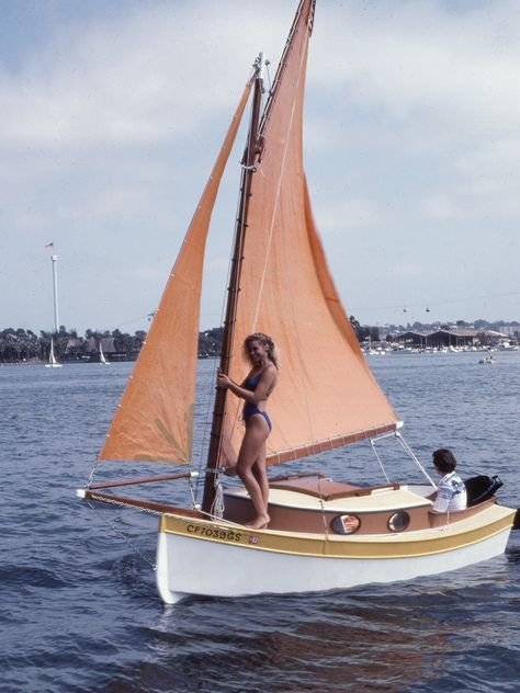The Pocket Cruiser Page   I'm on a boat in 2019   Sailboat, Sailing dinghy, Wooden sailboat