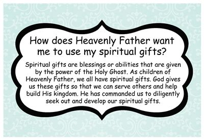 How does heavenly father want me to use my spiritual gifts sm how does heavenly father want me to use my spiritual gifts sm negle Images