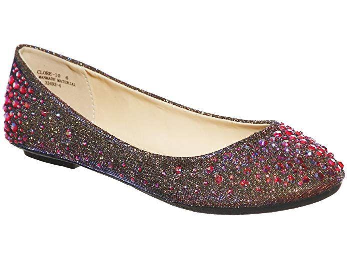 47d219f2dd118 Amazon.com | shoewhatever Women's Classic Round Toe Ballerina Flats ...