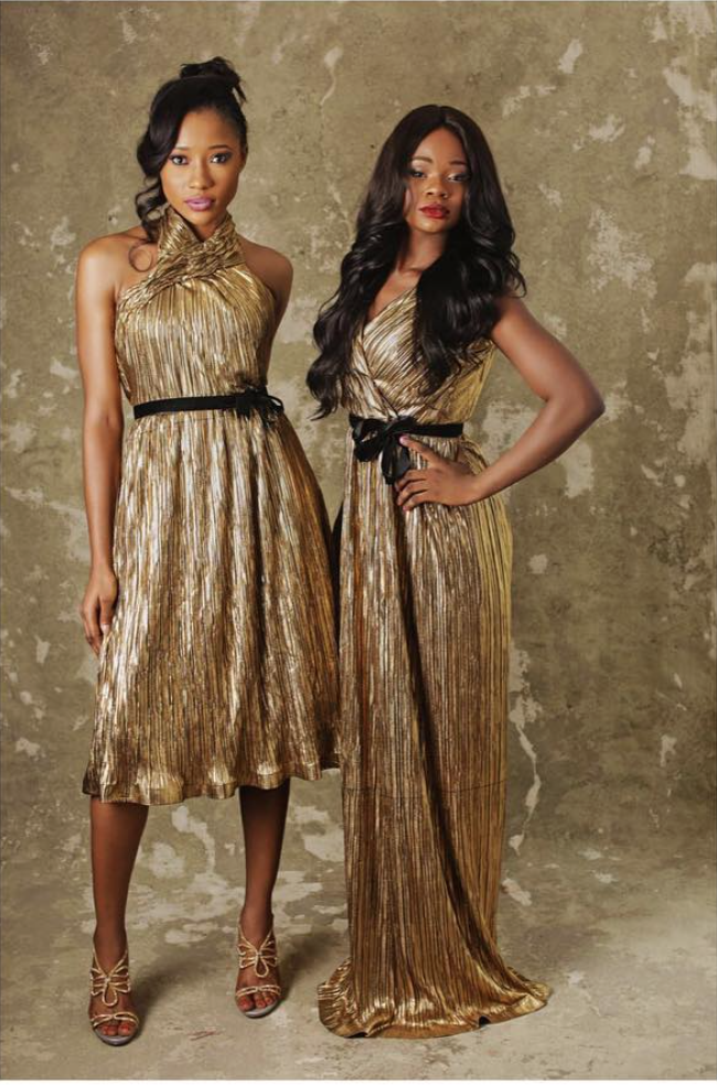 Olajumoke's Latest Photos Shoots - See Photos    Olajumoke Orisagunas star just keeps shining literally as she stuns in this gold maxi dress by womenswear brand Salmah Guzel.  Heres a sneak peek of her recent photoshoot for the brands look book.   entertainment fashion news