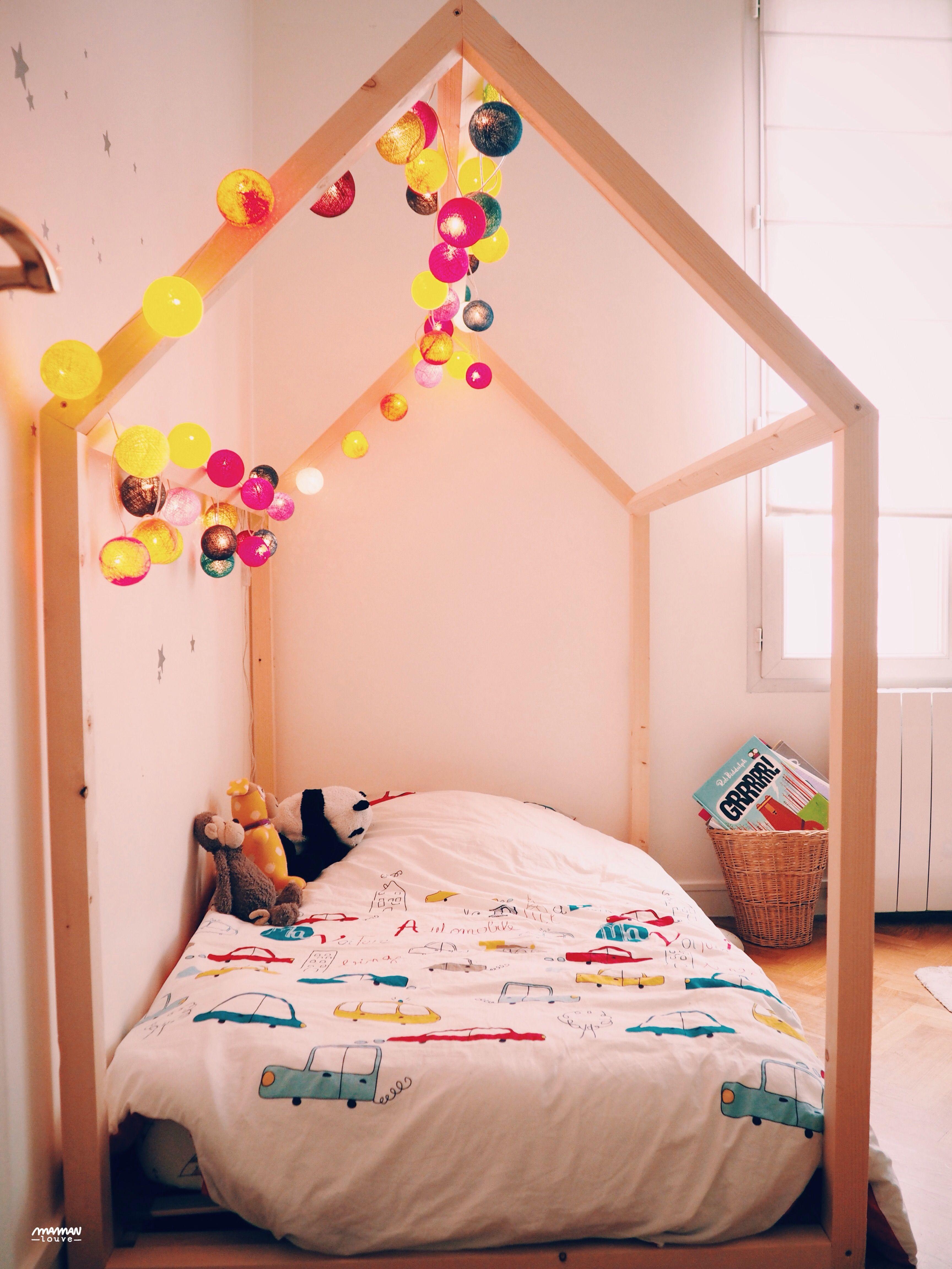 Lit Cabane Maman Louve tuto lit maison   lit maison