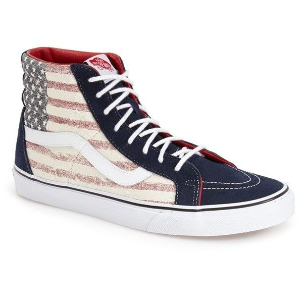 3579945068 Vans  Sk8-Hi Reissue  Sneaker ( 70) ❤ liked on Polyvore featuring ...