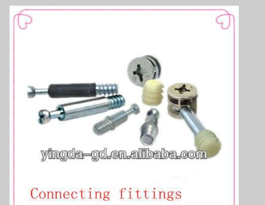 12.5mm Universal Cam Fixings and Dowels Flat Pack Furniture Assembly Fittings ZP