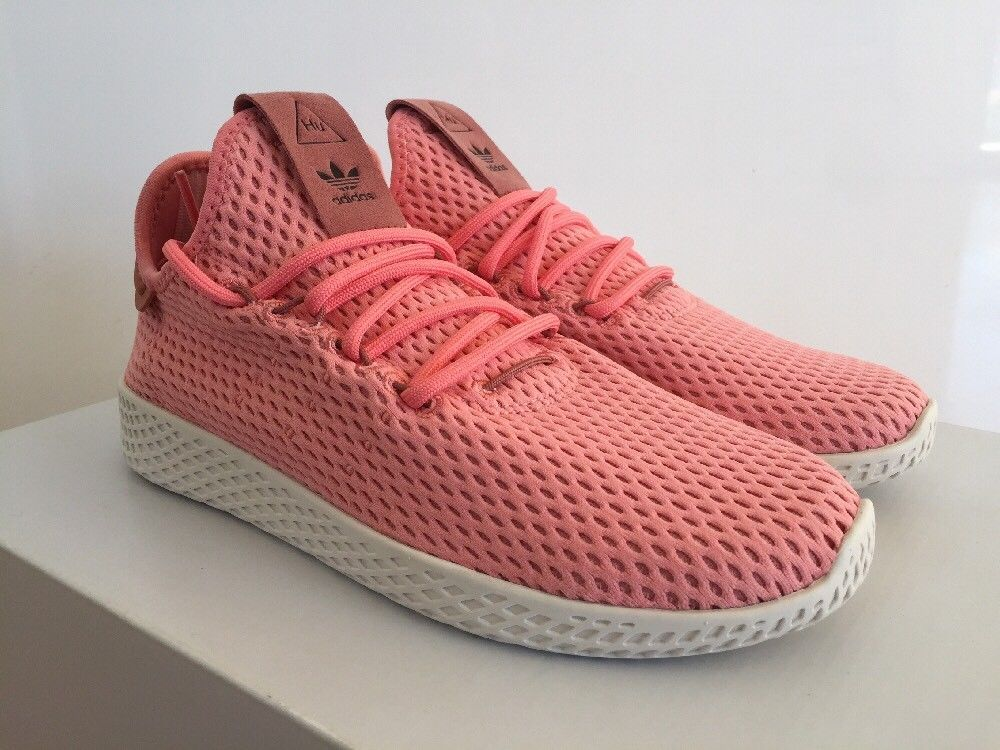 Adidas Pharrell Williams Tennis Hu Men Sneakers Shoes Raw Pink By8715 Size Us 5 Fashion Clothing Shoes Accessor Adidas Pharrell Williams Sneakers Men Shoes