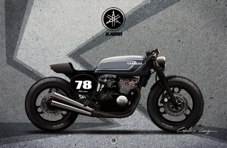 Yamaha  Xj Cafer Racer