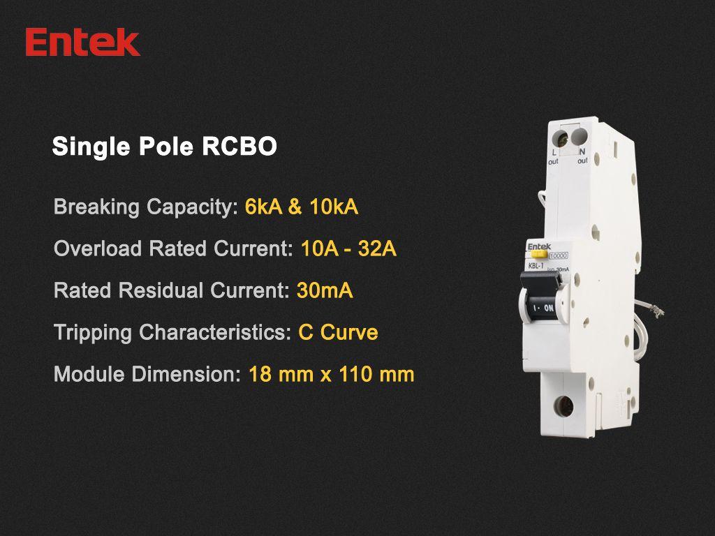 Rcbo Residual Circuit Breaker With Overcurrent Protection Mcb Lowvoltage Circuitbreaker Miniaturecircuitbreaker