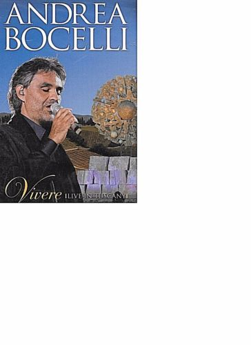 Details about Andrea Bocelli Vivere Live In Tuscany DVD FACTORY