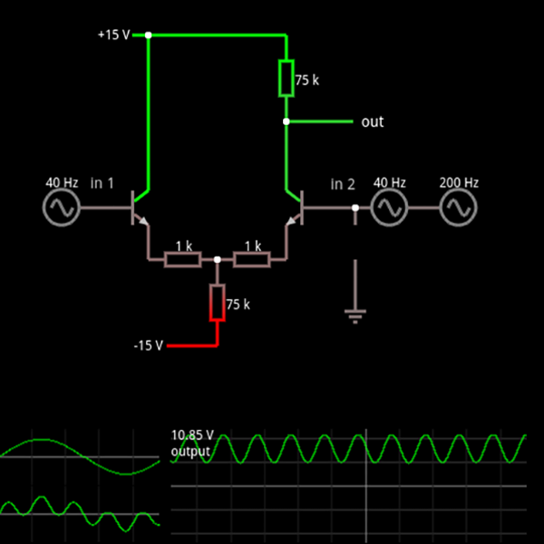 a breadboard in a browser electronics electronic schematics