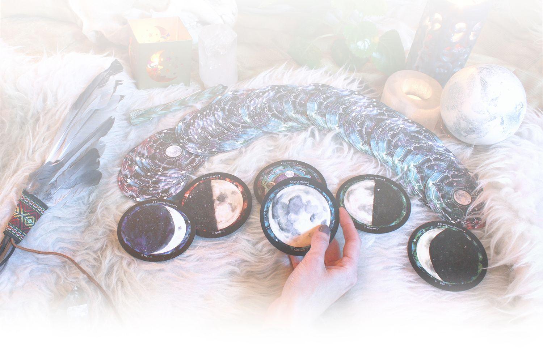 Spirit De La Lune, The Moon Phase Oracle Deck.