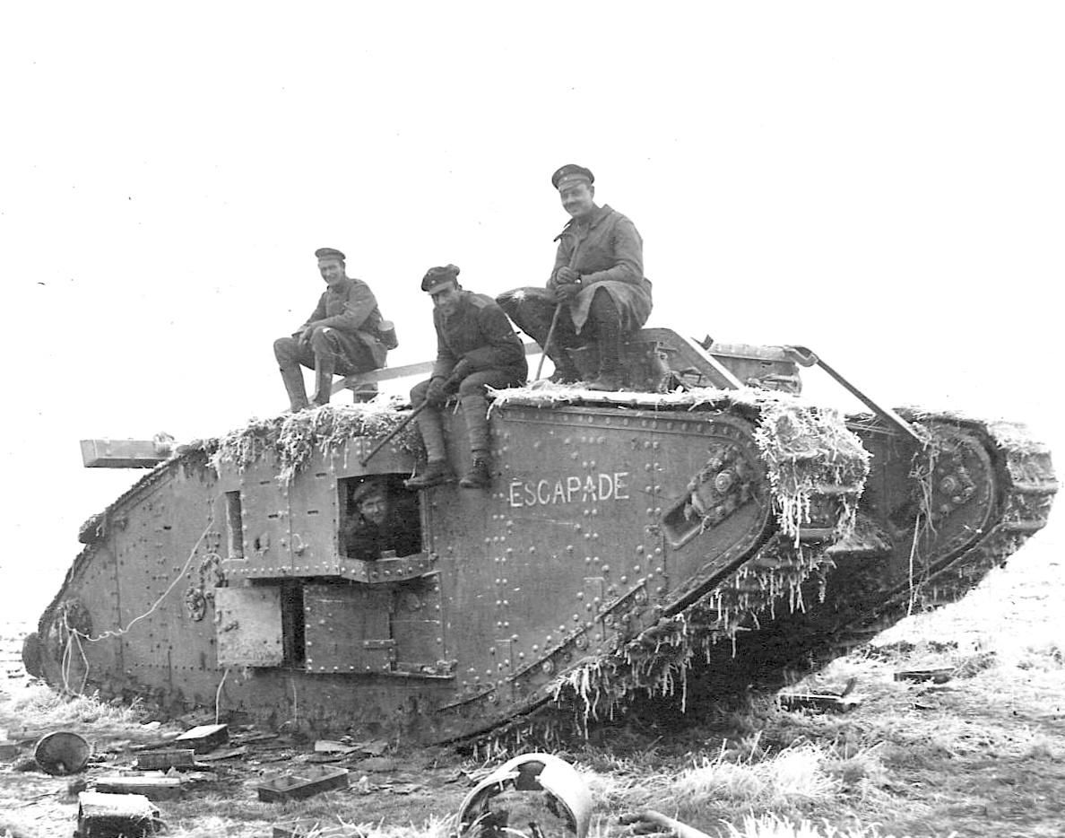 tanks in ww1 What ensued was the very first tank vs tank battle  ww1: british mark iv ( tadpole) tank - a mark iv with an extended 'tadpole' tail designed.