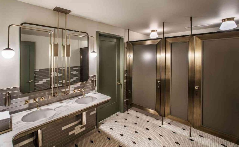 The Best Public Bathrooms In America In 2016 Washroom Design Public Restroom Design Restroom Design