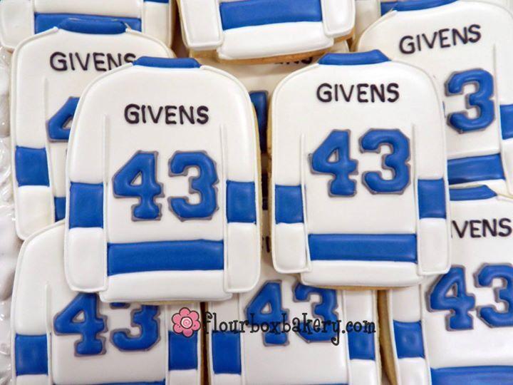 Hockey Jersey Sugar Cookies Custom Cookies Sugar Cookies Sugar Cookies Decorated