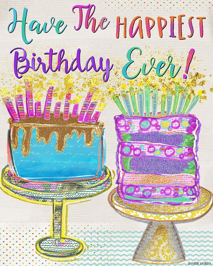 happiest birthday Have The Happiest Birthday Ever! by Jennifer Lambein   happiest birthday