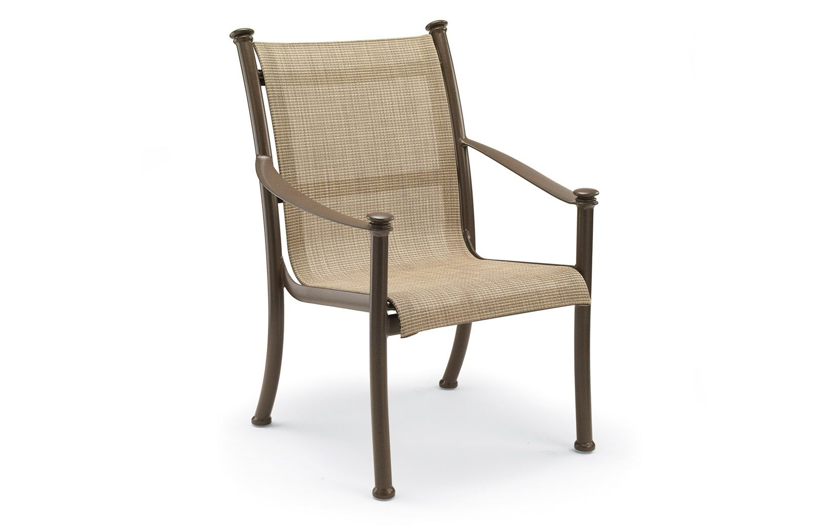 Outdoor High Back Dining Chair High back dining chairs