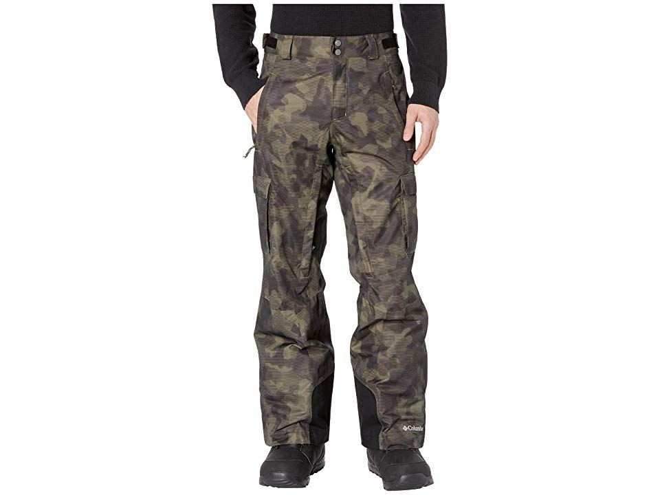 Columbia Ridge 2 Runtm II Pant Peatmoss Camo Lines Mens Outerwear Ideal for staying dry and warm during winter weather activities these versatile pants feature a waterpro...