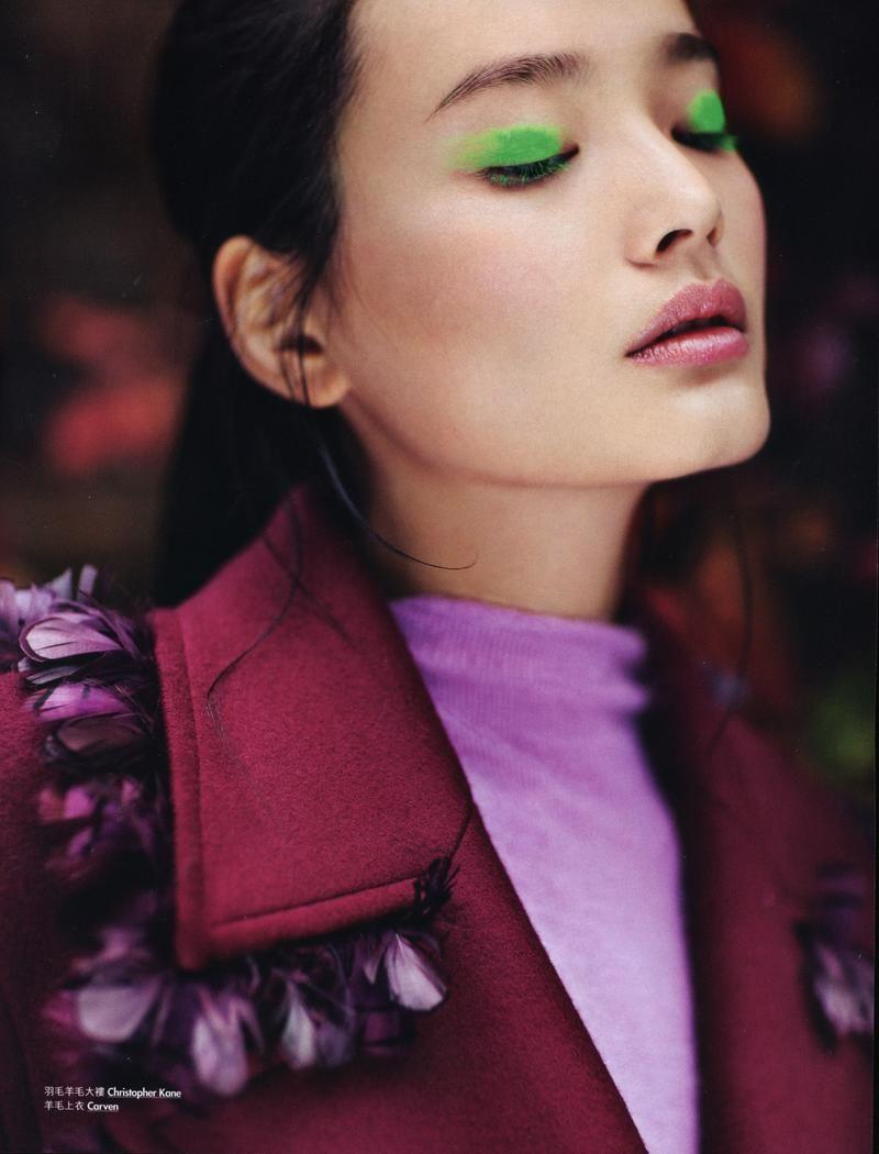 Green Eyes Asian Nude - Elle Hong Kong - Naked Berry | 3BEAUTY | Asian makeup ...