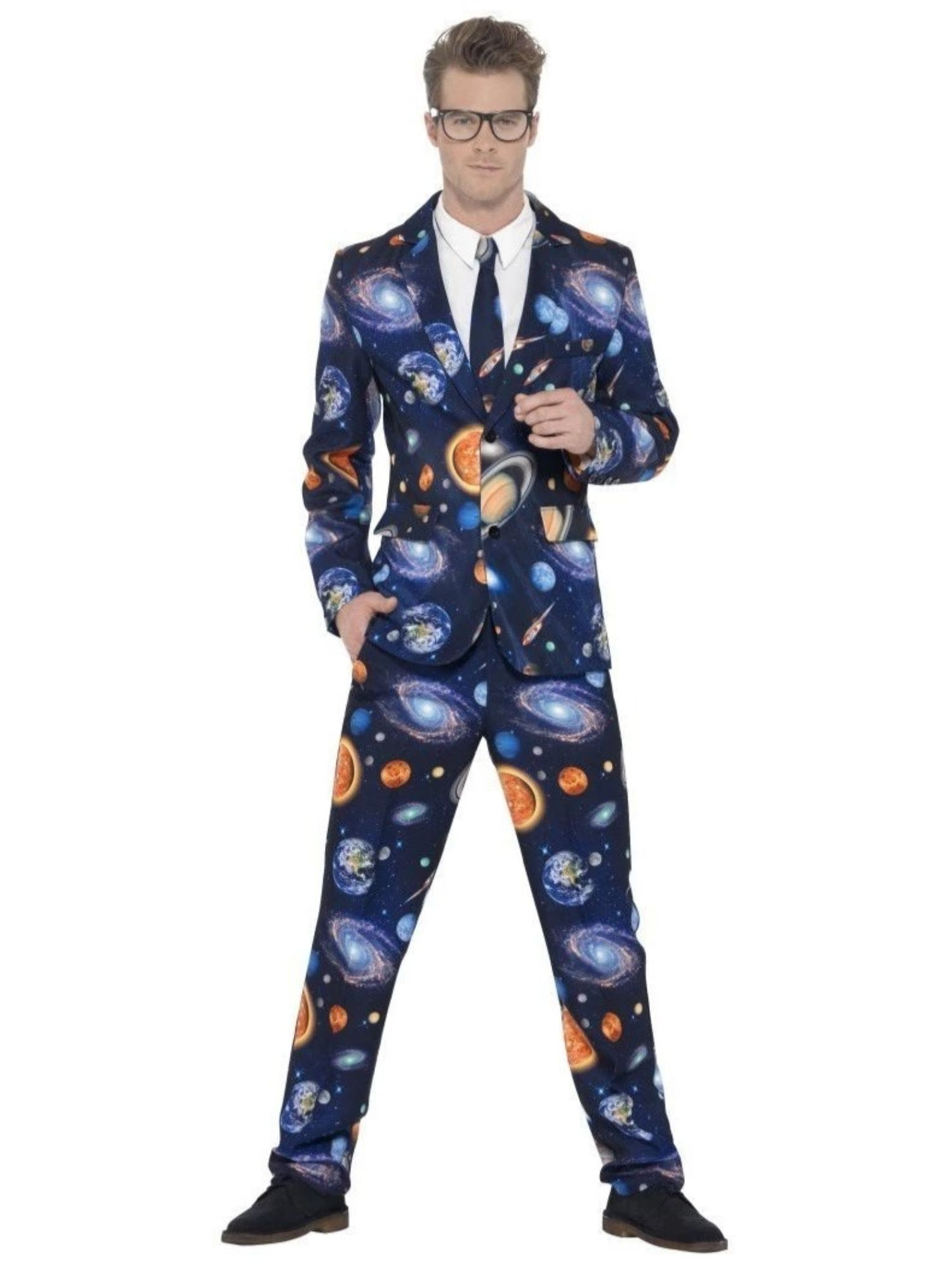 Mens Stand Out Suits Fun Fancy Dress Costumes Stag Do Outfits Official Smiffys