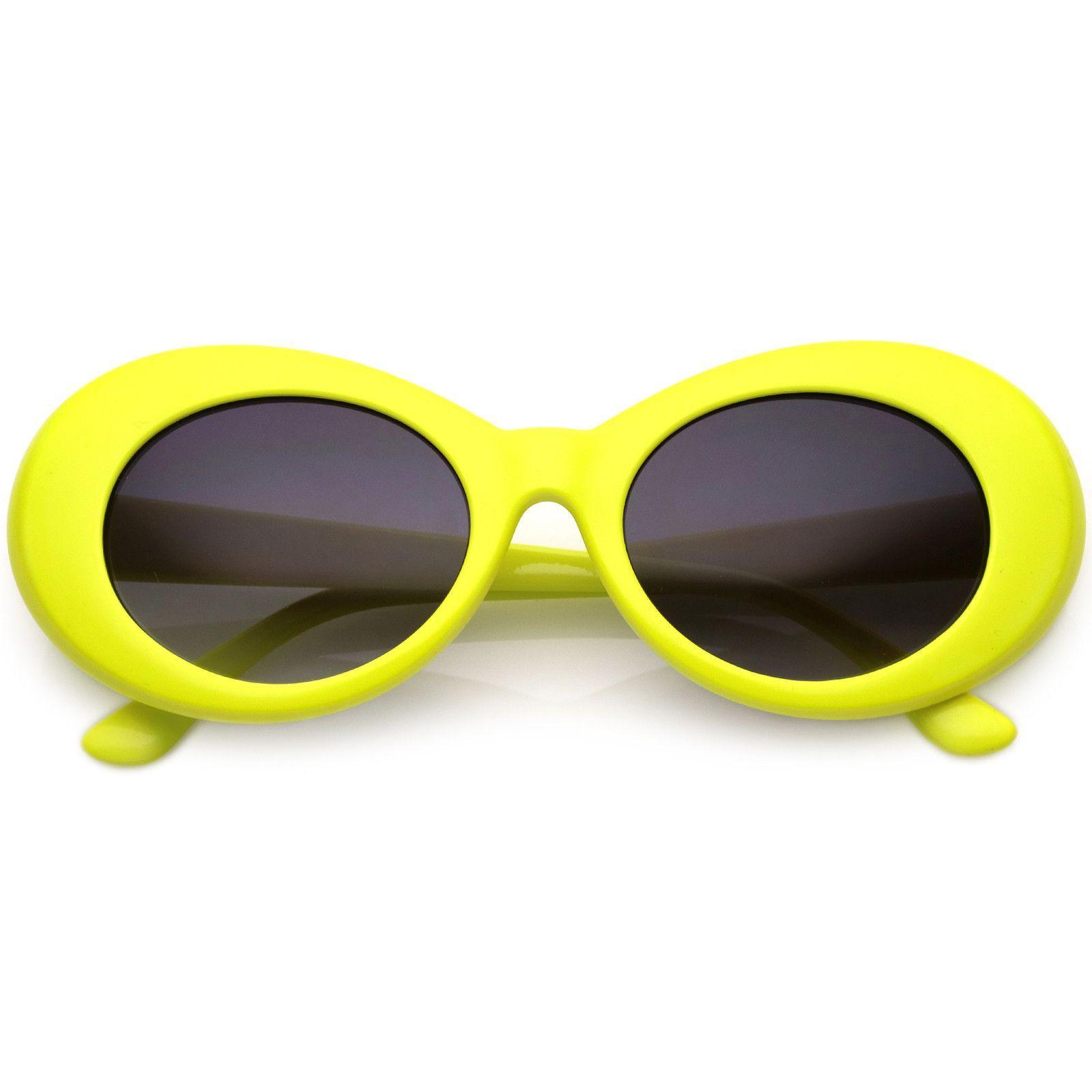 34b2473189 Retro Clout Oval Round 90 s Gradient Lens Sunglasses C448 in 2019 ...