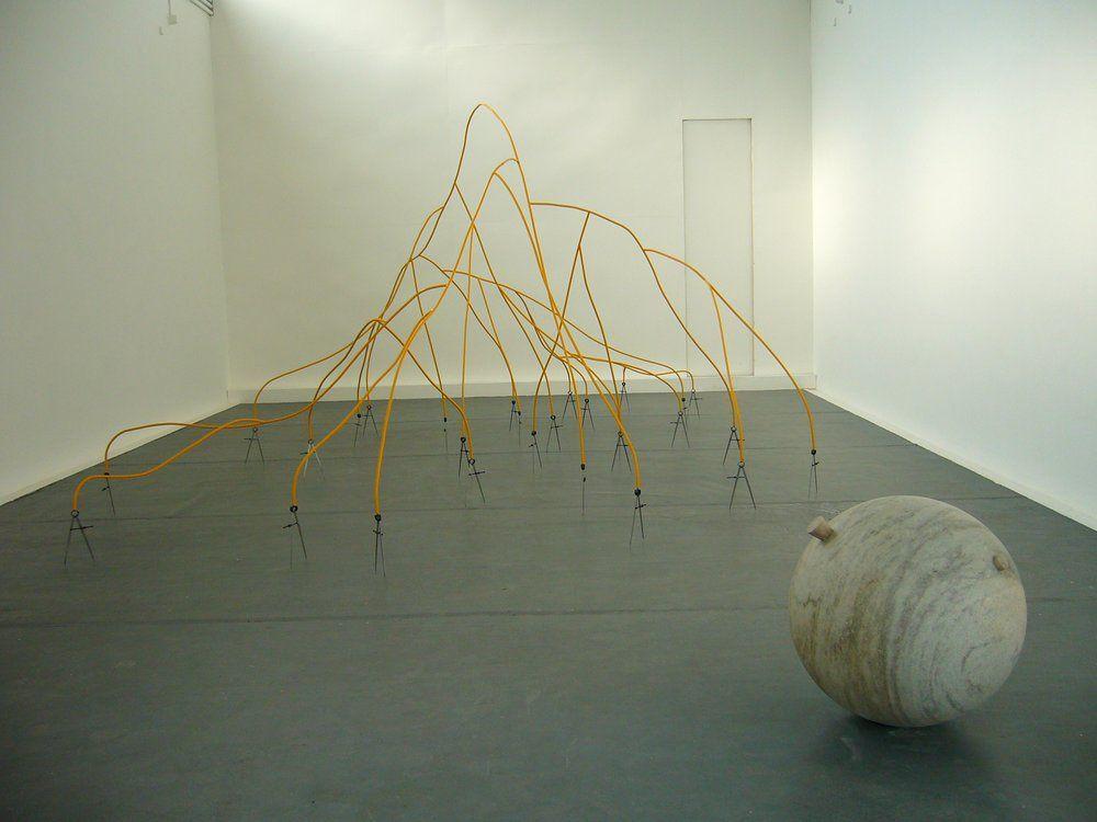 Works by José Damasceno: Piccolo Teatro , 2013, Monitor (Crayon) , 2012, Angles , 2010, Monitor , 2010, Projeto-Objeto , 2008, Untitled, 2006, Trilha Sonora III , 2002, Untitled, 1998, Soliloquio , 1995, A Carta , 2003, Durante O Caminho Vertical , 2005, Durante o Caminho Vertical , 2005, Method...