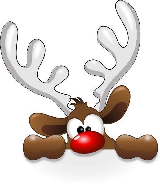 reindeer head hi png 516 599 pixels christmas pinterest count rh pinterest com funny christmas clipart black and white fun christmas clipart free