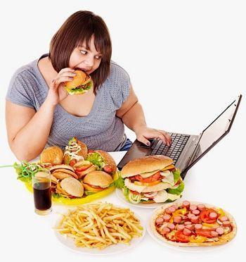 La alimentación excesiva en carbohidratos bloquea los receptores de leptina