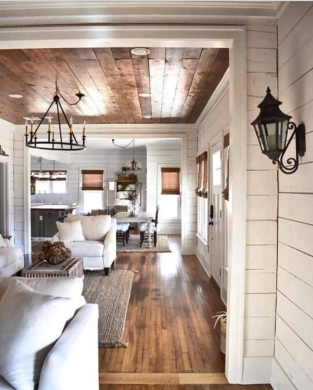 Farmhouse Only On Instagram Follow Us Farmhouse Only For More Daily Interior Inspo Our Te Farm House Living Room Farmhouse Style Living Room New Homes