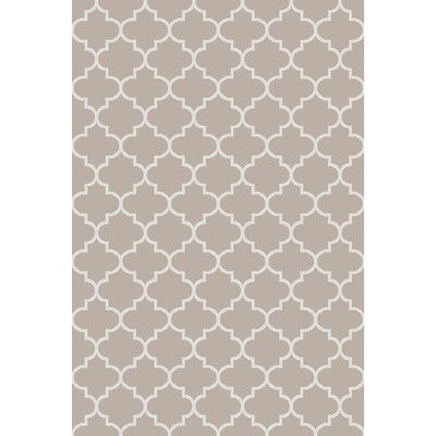 Darby Home Co Palladio Hand-Woven Gray Area Rug Rug Size: 2' x 3'