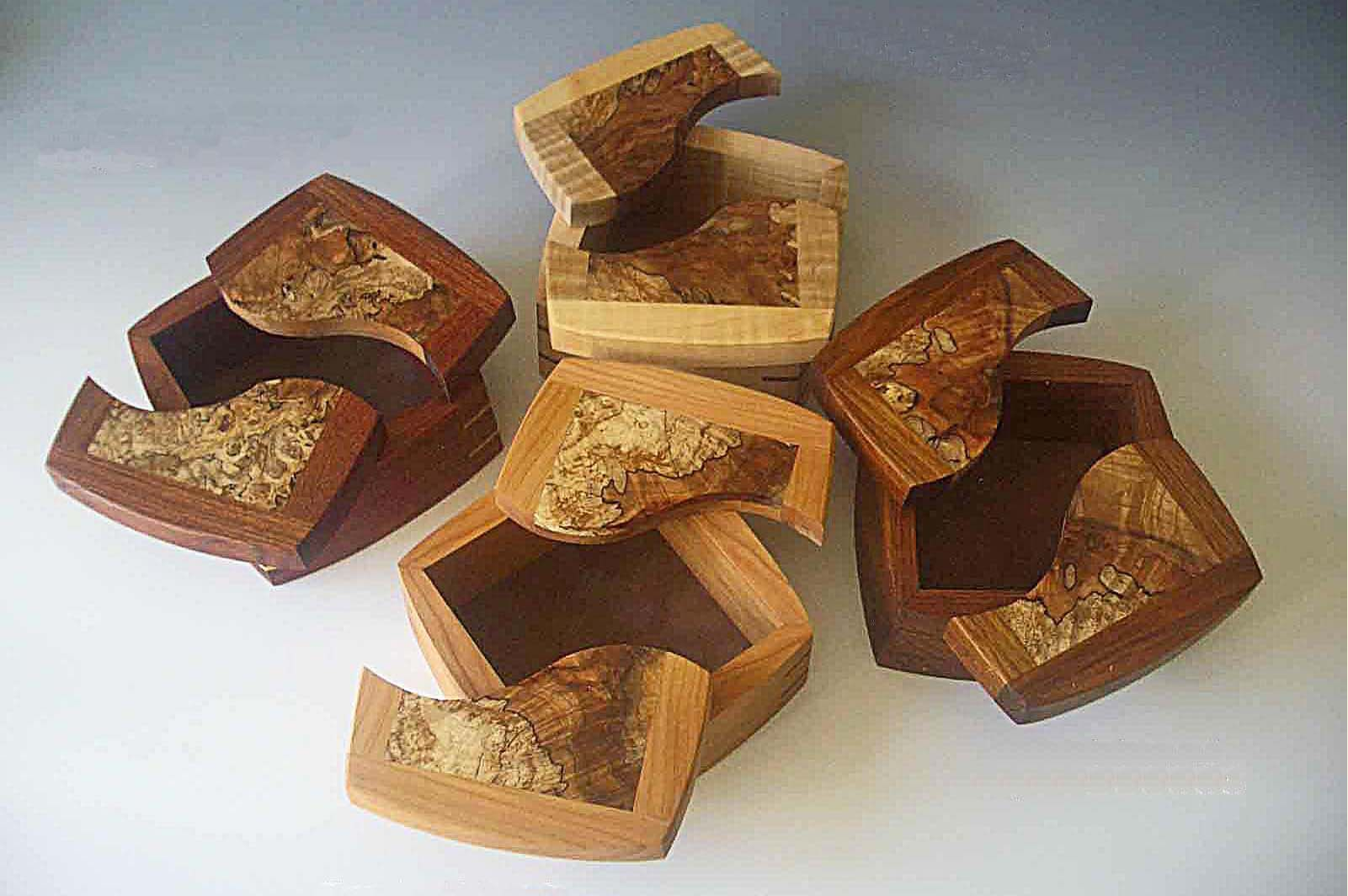 Handcrafted wood jewelry boxes - Wooden Keepsake Box Handcrafted Wood Box And Decorative Keepsake Box