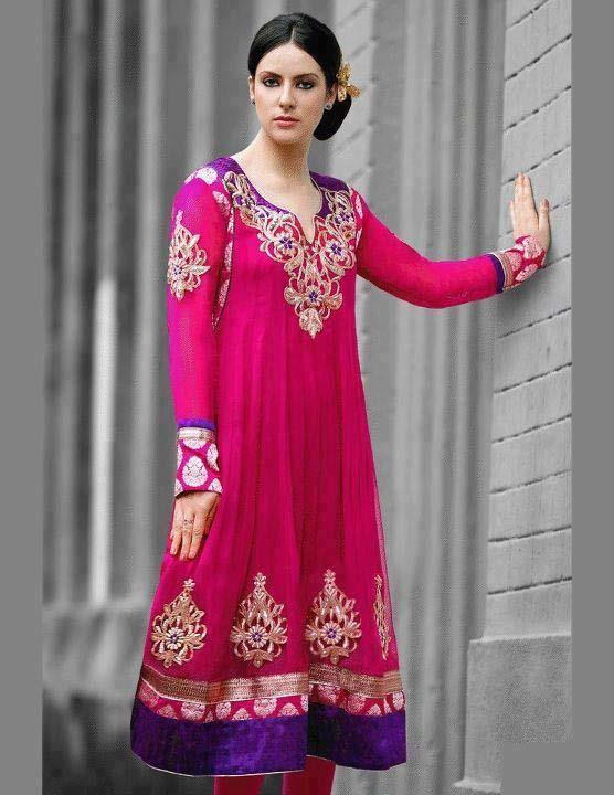 Latest Frock Churidar Fashion for Women in Pakistan 2012 : Fashion, Beauty