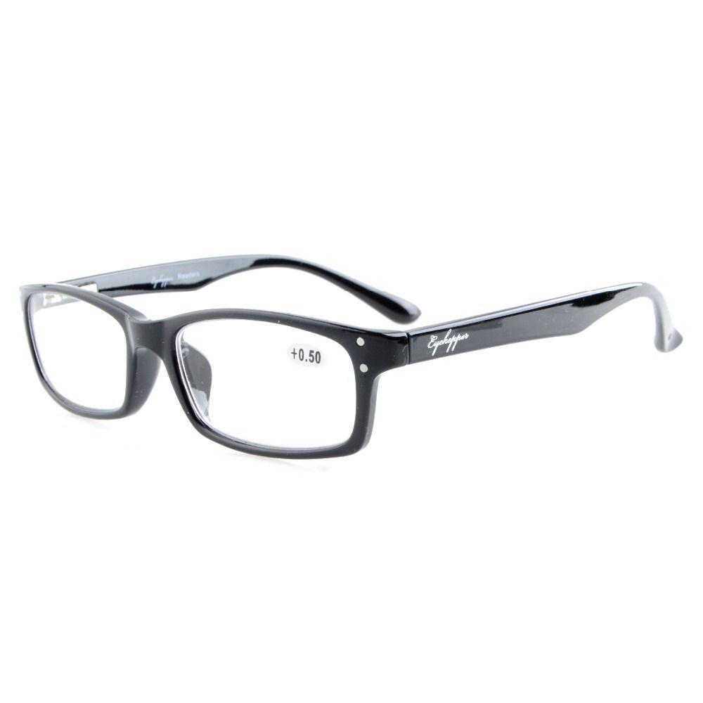 b7921bf59304 R103 Eyekepper Readers Spring-Hinges Quality Reading Glasses Men Women  +0.5 0.75