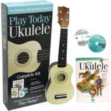 Play Ukulele Today! Complete Kit, Multicolor